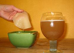 Лечение ангины с помощью чайного гриба