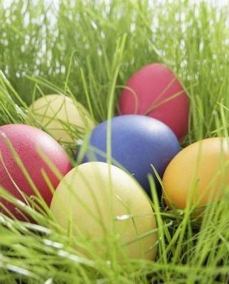 Пасхальные яйца. Узнайте, как получить натуральную краску