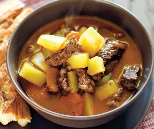 Суп гуляш из говядины