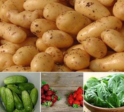 Список из 12 фруктов и овощей, которые содержат больше всего пестицидов