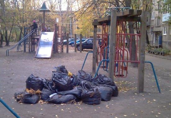 Очистить наши дворы от мусора в наших силах