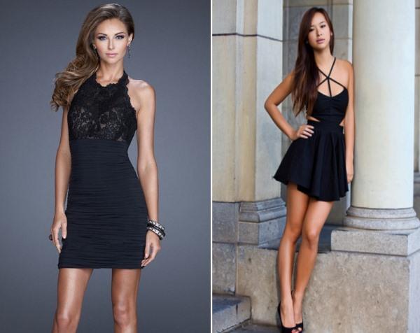Как правильно носить маленькое черное платье