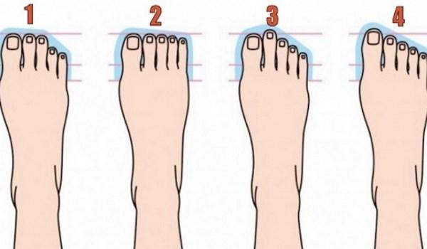 Пальцы на ноге могут рассказать, какой вы человек!