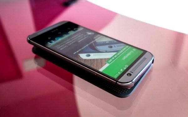 2 место – HTC One M8