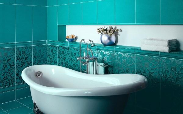 Идеальный декор с плиткой для ванной от мировых лидеров производства